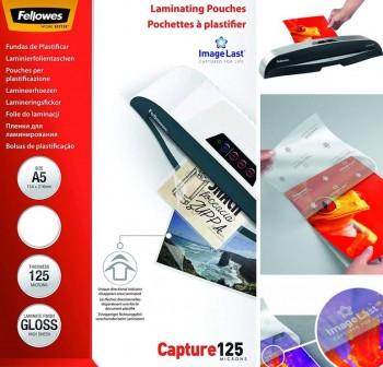 FELLOWES Laminas plastificar A5 154x216 125micr.(25hojas)