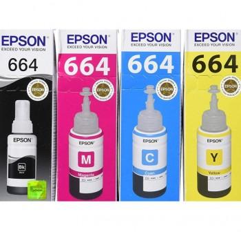 EPSON Cartucho inkjet T6641 original NEGRO 70ml