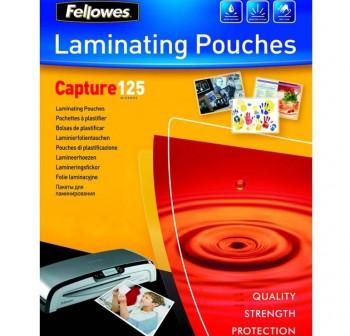 FELLOWES Lamina plastificar adhesiva 216x303 (A4) 125micras