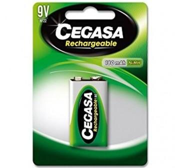 CEGASA Pila recargable 9V HF22