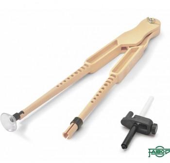 FAIBO Compas de plastico de 42cm con ventosa y adaptador universal