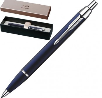 Bolígrafo Parker im metal azul ct
