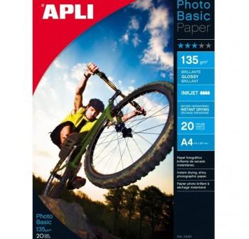 APLI Papel glossy (fotografico)
