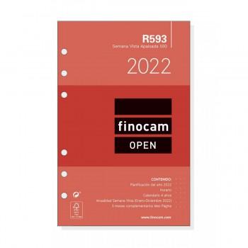 FINOCAM Recambio agenda (R593) s/v. apaisado mod.500 2022