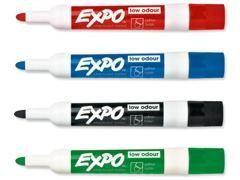 PAPERMATE Rotulador pizarra blanca expo low odor