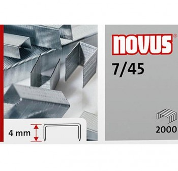 Caja 2000 grapas galvanizadas para tenaza automática 7/45