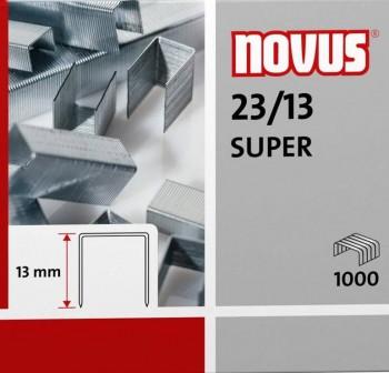 Caja 1000 grapas galvanizadas Novus 23/13