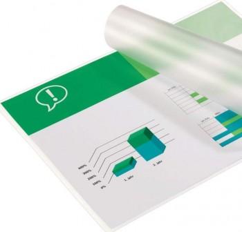 Caja 100 Fundas plastificación GBC pouch A4 autoadhesivas 125mic