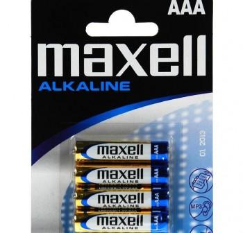 Pack 4 pilas Maxell AAA LR03-B4 GD MXL