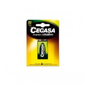 Pila Cegasa super alcalina 9V 6LR61