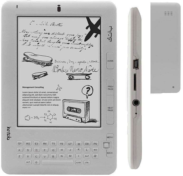 "E-book ketab advance 6\"" táctil + wifi"