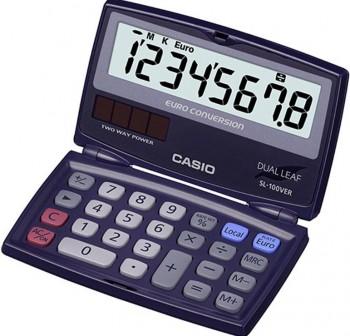 Calculadora de bolsillo Casio sl100ver