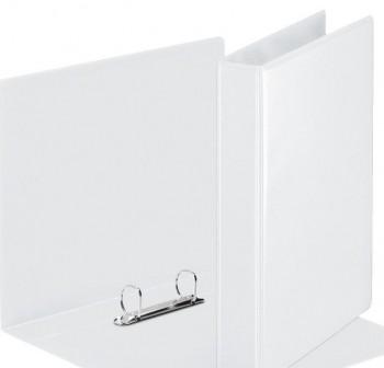 Carpeta canguro 2 anillas mixtas de  55MM - Blanco