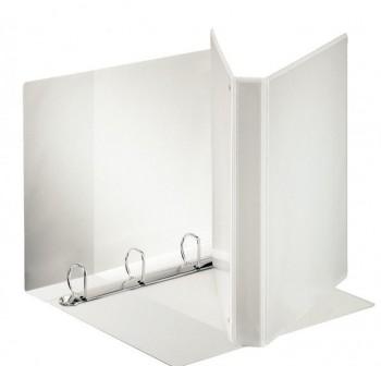 Carpeta canguro 4 anillas mixtas de  55MM - Blanco