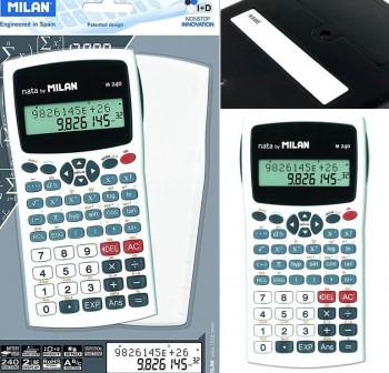 Milan Calculadora científica M240 blanco