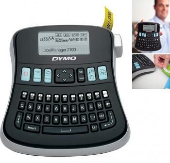 DYMO Kit Rotuladora LabelManager 210D + 2 cartuchos + pilas + adaptador