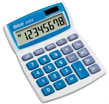 Calculadora Ibico 208x 8 dígitos