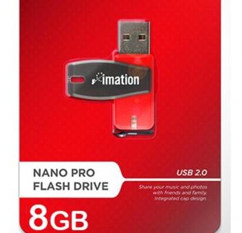 Disco duro USB Imation nano flash pocket 8GB