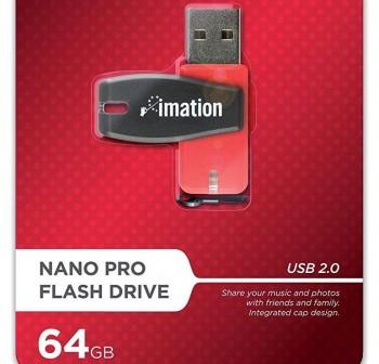 Disco duro USB Imation nano flash pocket 64GB