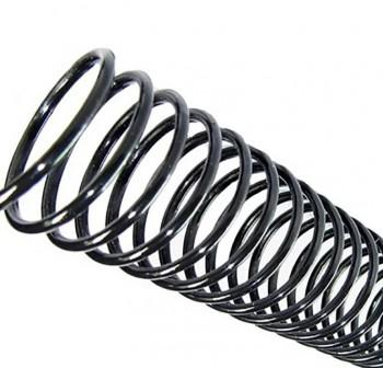 Caja 100 espirales metálicos IBico 5:1 24mm negro