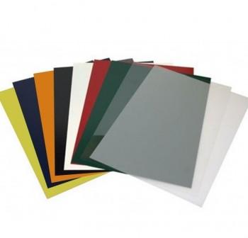 Caja 250 tapas encuadernación cartulina 180gr A4 blanco