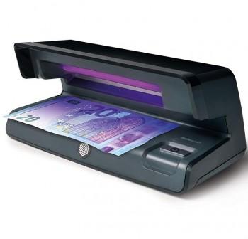 Detector de billetes falsos ultravioleta Safescan 50 20,6x10,2x8,8cm color negro