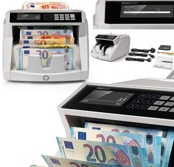 SAFESCAN Contador y detector de billetes mezclados UV 2465-S