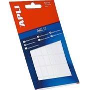 APLI Etiqueta adhesiva blanca para escritura manual minibolsa 6hojas