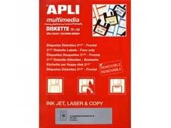 APLI Etiqueta para escritura manual para disketes 5hojas