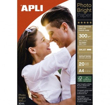 APLI Papel photo (fotografico)