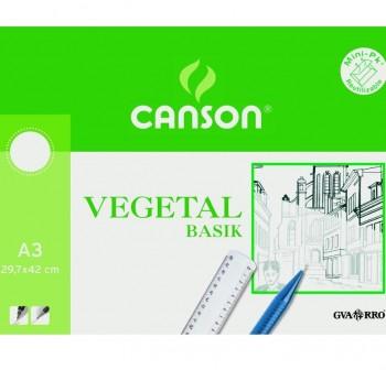 Pack 250 Láminas papel vegetal 110-115gr A3