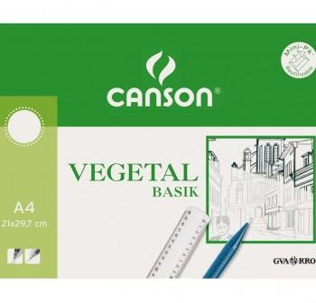 Pack 250 Láminas papel vegetal 110-115gr A4