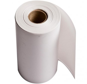 Rollo papel fax 21cmx100m mandril 25mm
