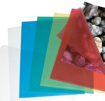 ESSELTE Dossier uñero PVC.110 micras folio colores