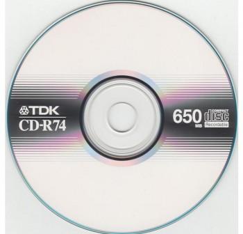 TDK CD-R audio 74minutos