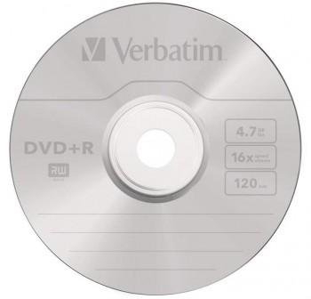 VERBATIM DVD+R 16x data 4,7Gb