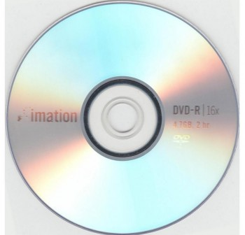 IMATION DVD-R 16x 4,7Gb.