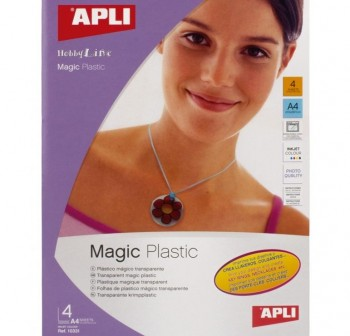 APLI Din A-4 papel magnetico