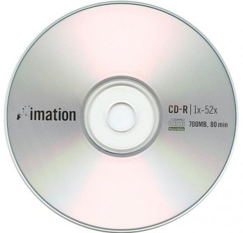 IMATION CD-R 700Mb. 80minutos 52x tarrina