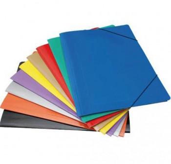 GEMO Carpeta folio elastico con solapa plastificado