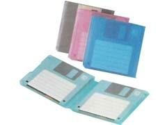 FELLOWES Archivador 1 diskette transparente