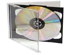 STEY Caja cd doble cristal