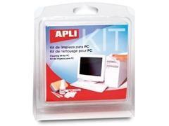 APLI Kit de limpieza para PC