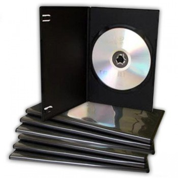 Pack 10 Estuches dvd slim