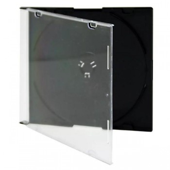 Pack 10 Estuches CD negro