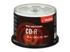 IMATION CD-R 700Mb. 80minutos 52x sp*pk50