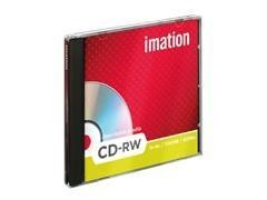Pack 10 CD-Rw Imation 700Mb 4x-12x caja