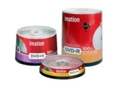 Pack 10 DVD+R Imation 4,7GB 16x caja slim