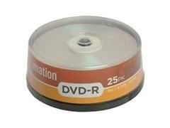 Pack 25 DVD+R Imation 4,7GB 16x tartera