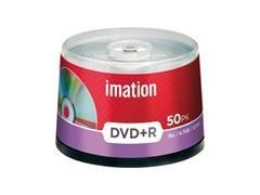 Pack 10 DVD+R Imation 4,7GB 16x tartera